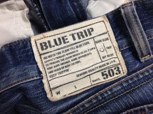 EDWIN503 BLUE TRIP