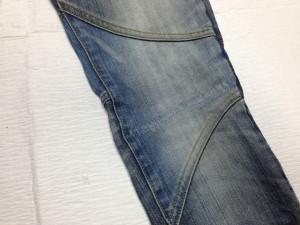 トルネードマート(TORNADO MART)ジーンズ膝修理2
