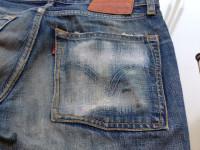 リーバイスジーンズ 後ろポケット修理後
