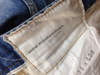 VISVIM(ビズビム)SOCIAL SCULPTURE DENIM