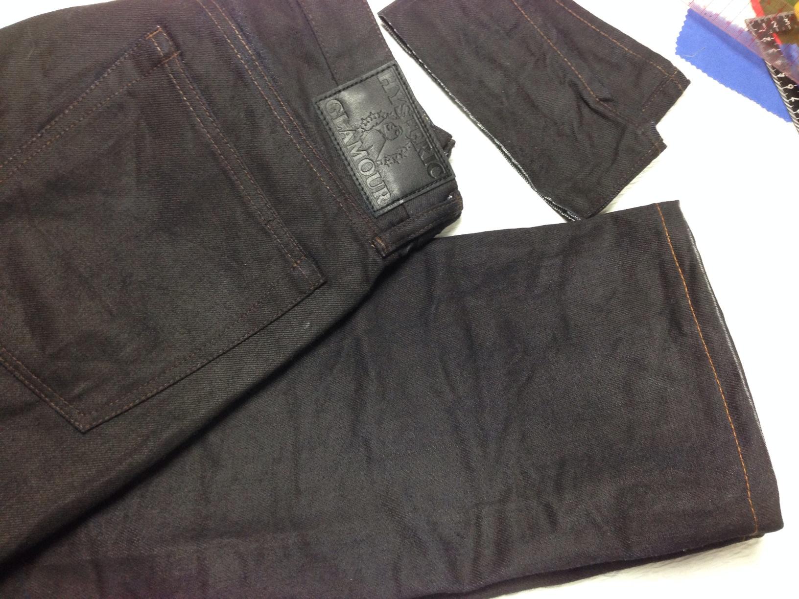 HYSTERIC GLAMOUR(ヒステリック グラマー)ジーンズ裾上げ