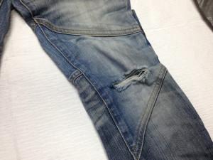 トルネードマート(TORNADO MART)ジーンズ膝修理1
