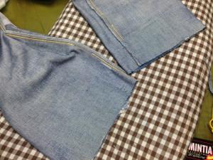 リーバイスジーンズ裾直し3
