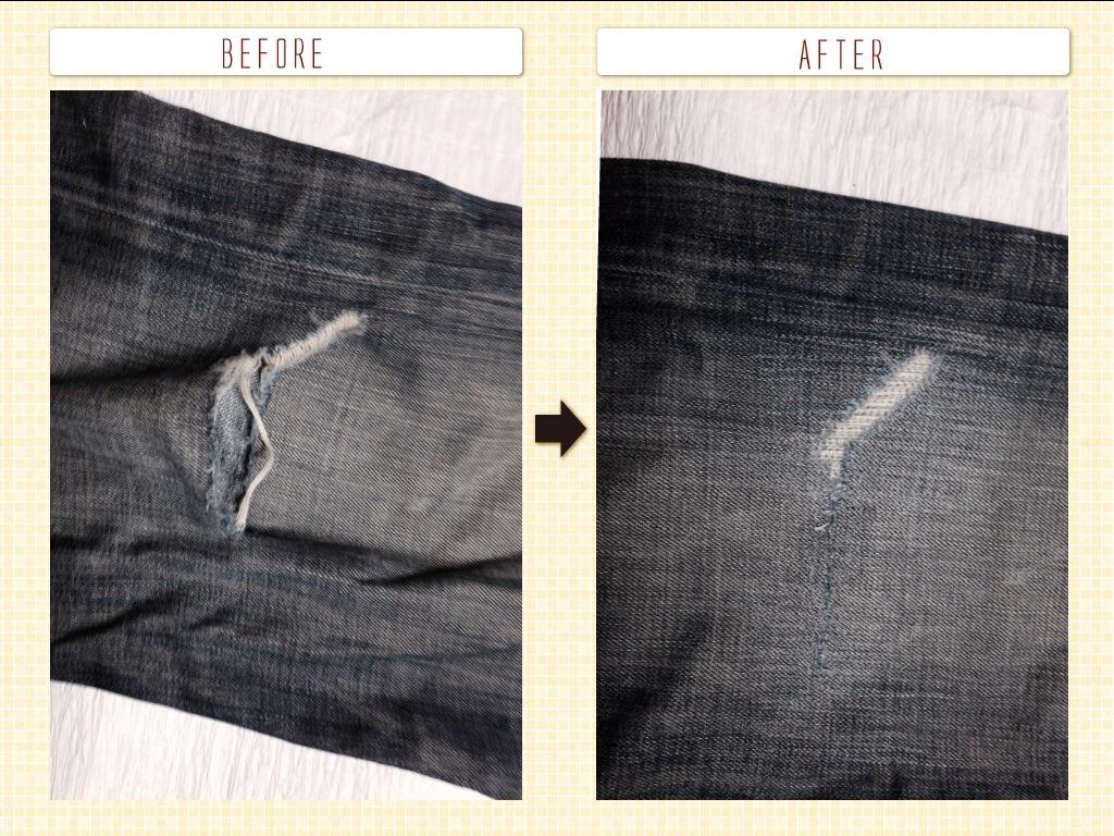 SEALKAY(シールケイ)膝穴修理