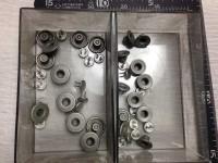 ジーンズボタン修理1