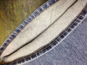 C-17 (シーセブンティーン) ジーンズ 挟み縫い 裾上げ9
