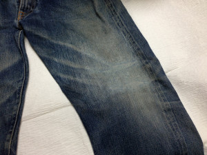 Denime(ドゥニーム)ジーンズ膝穴直し6