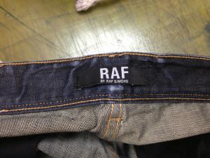 RAF by RAF SIMONS ラフバイラフシモンズ