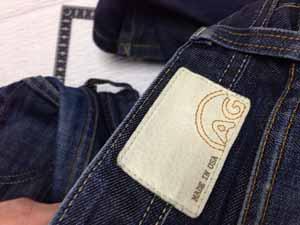 エージー AG Jeans デニム股修理