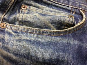 リーバイス ポケット修理3