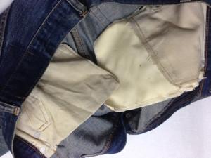 リーバイス ポケット修理11