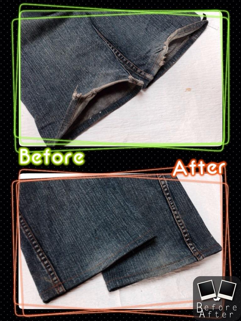 abx(エービーエックス)裾修理