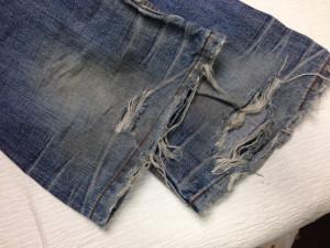 ハイダウェイ(HIDEAWAYS)裾修理2