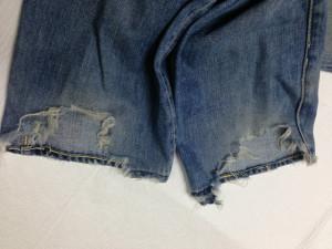 リーバイスジーンズ裾直し1
